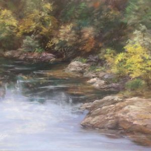 American River Cove, Marianne Woosley, Soft Pastel
