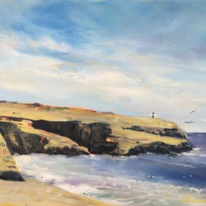 At the Point, Al Shamble, Oil