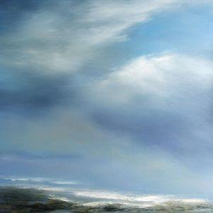 Blue Symphony, Michael Mote, Oil