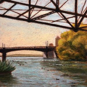 Bridges, Capitola, Sandra Cherk, Soft Pastel