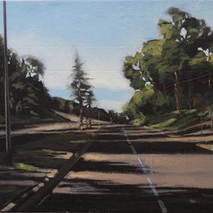 Down Redwood Road, Michael Manente, Oil