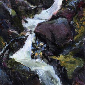 Esalen Canyon Creek, Jim Potterton, Acrylic