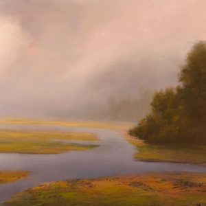 Evening at the Reserve, Michael Mote, Oil
