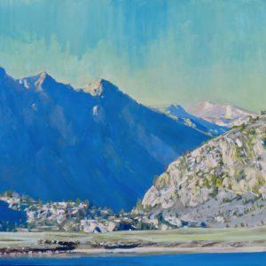 Grant Lake June Lake Loop, Victor Schiro, Oil