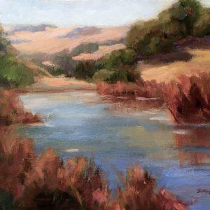Hidden Pond, Susan Migliore,Oil