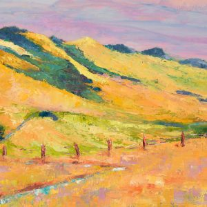 Hills and Beyond, Sue Holmes, Oil