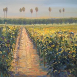 Hot August Day, Peggy Jelmini, Oil