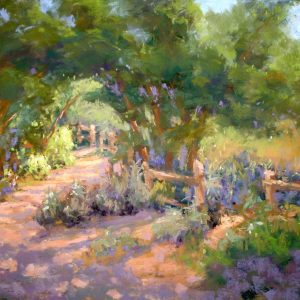 Shady Path, McClelland Ranch, Mary Stahl, Soft Pastel