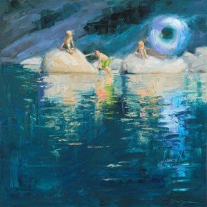 Summer Magic, Christine Crozier, Oil