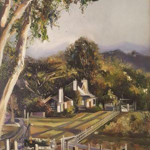The Ranch, Thalia Stratton, Oil