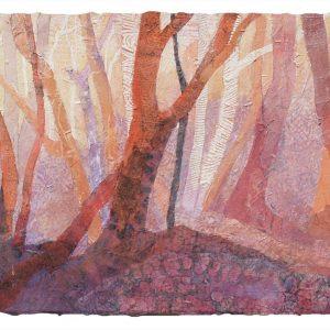 Threshold, Lynn Slade, Watercolor Collage