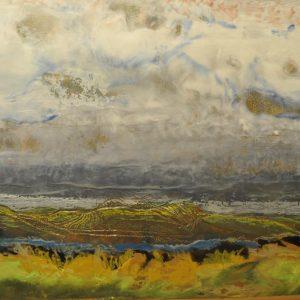 Valley Vineyards, Terry Dowell, Encaustic
