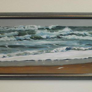 Wave after wave, Sue Cauwels, Oil