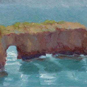 Westcliff Keyhole, Judith Brock, Oil
