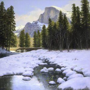 Winters Grandeur, Ruth Carroll, Oil