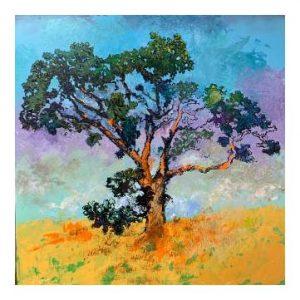 Tree by Eric Mikkelsen, Acrylic, 2020
