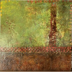 Terroir by Maria Rossi, Oil Mixed Media,