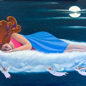 Dream Time by Karen Potter, Oil on Canvas, 2020