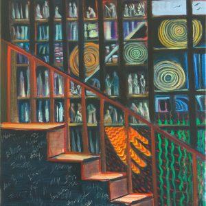 Insomnia by Karen Potter, oil on canvas, 2020