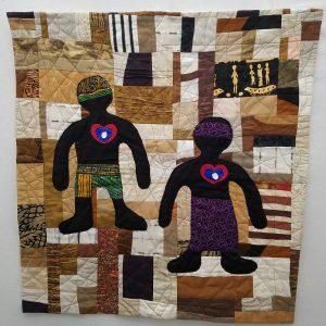 Let Us Breathe by Ann Baldwin May, Fiber, art quilt