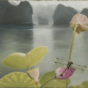 Halong Bay, Vietnam by Francine Marshall, Oil on Canvas, 2018