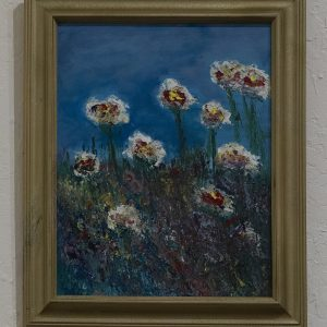 #11 Windswept petals by Claudia Gray, Acrylic