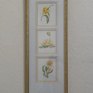 #12 Yellow Panel, Linda Lord, Watercolor