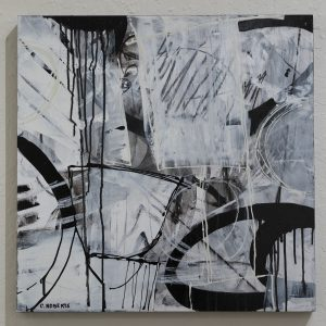 #15 Gossamer Memories by Cher Roberts, Acrylic on Panel