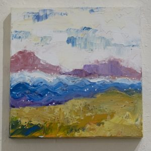 #2 Rolling Weather by Wendy Laird, Acrylic