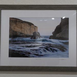 #22 Shark Fin Cove by Carlin Schelstraete, Photograph 18x24