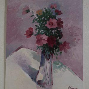 #24 Summer Bouquet by David Fleming, Oil