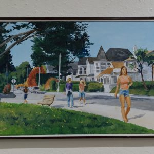 #28 On West Cliff by Richard M. Bennett, Oil