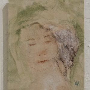 #30 Daydream by Sarah Michael, Encaustic