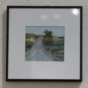 #36 Road Trip by Sandra Cherk, Soft Pastel