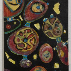 #53 Whimsy by Melinda Rambo, Acrylic