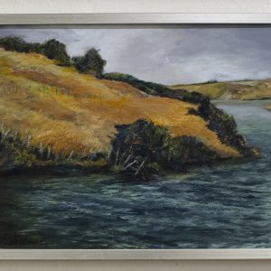 #6 At the Edge of Harkins Slough #2 by Jim Potterton, Oil