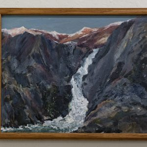 #7 High Sierra Alpine Glow by Jim Potterton, Oil