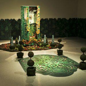 "</b> <i>Private Landscapes/Public Territories</i>, installation,  21"" x 14, 2011"