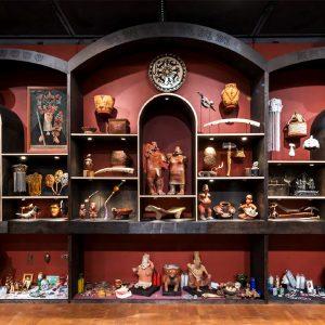 <b>Amalia Mesa-Bains</b> <i>New World Wunderkammer (main installation piece)</i>, installation, 2013
